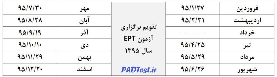 timetable95 ept